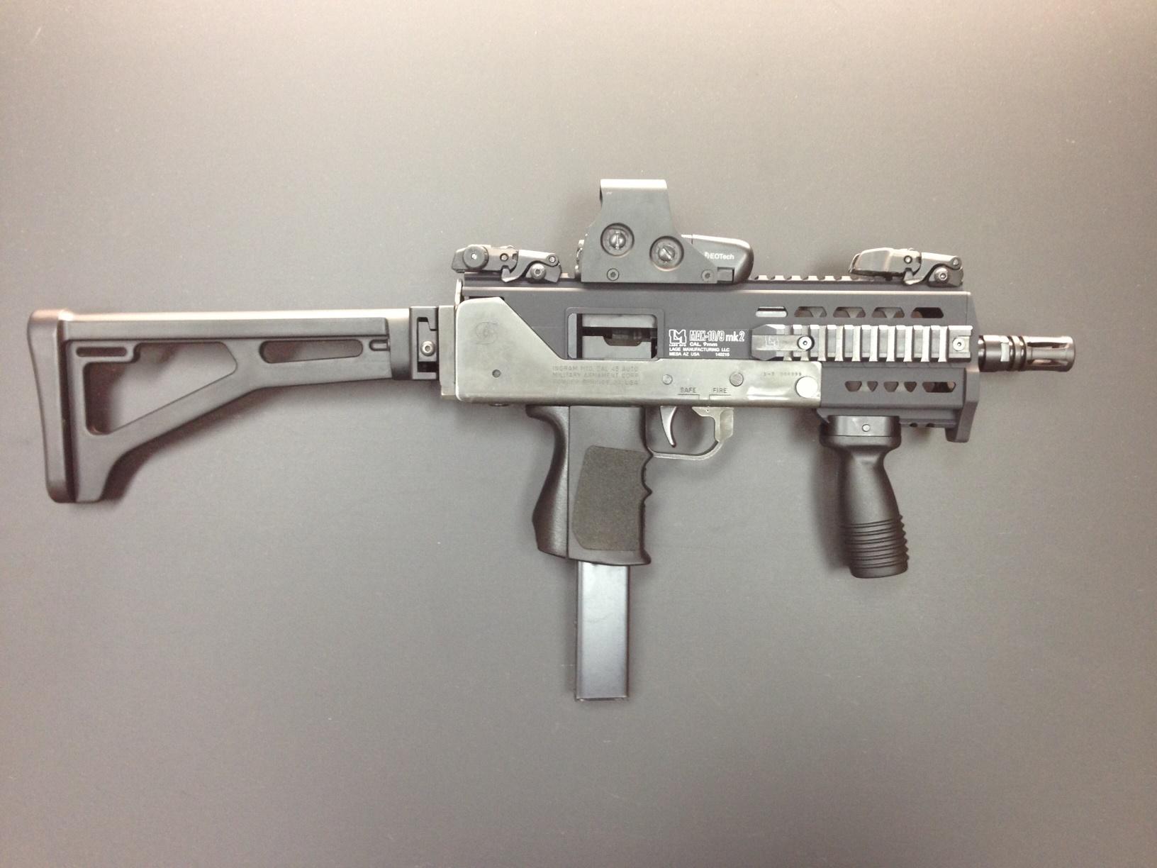 MAX-10 mk2 Upper Receiver and Accessories