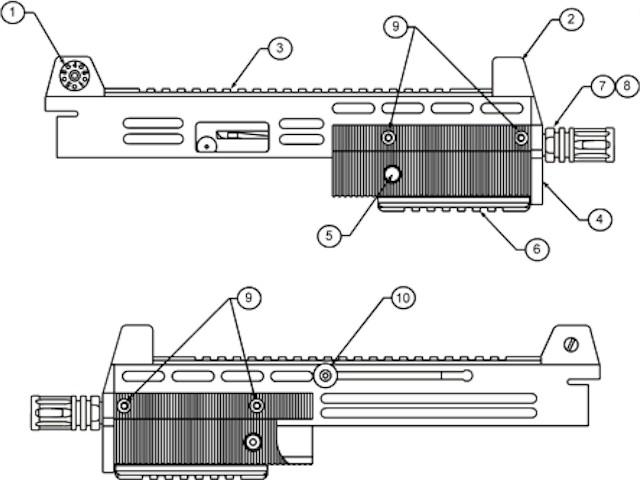 LAGE Mfg  Products: M-11/9 M-11 M-10 M-10/9 M-10/45 Cobray